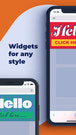 Widgets for any style