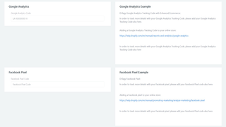 You can track Facebook Pixel & Google Analytics with more detail