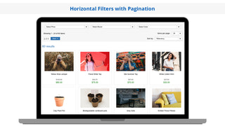 Search Magic Horizontal Filters with Pagination