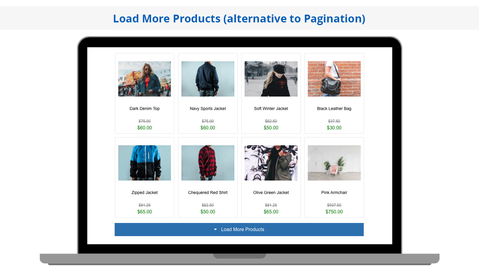 Search Magic Load More Products