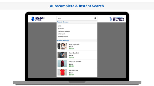 Search Magic Autocomplete and Instant Search