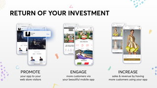 Get the return of investment on your mobile app!