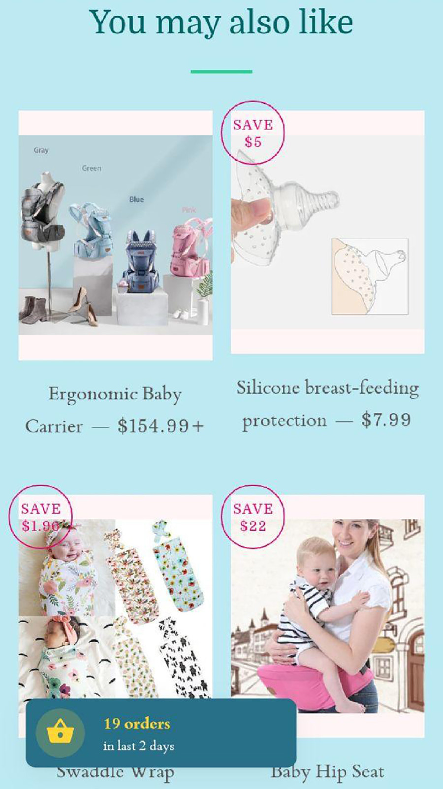 You may also like carousel with Related Products for your store
