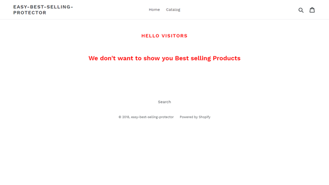 Best Selling protector Preview page