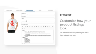 Customize how your product listings look
