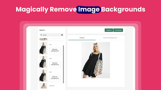 Magically Remove Image Backgrounds