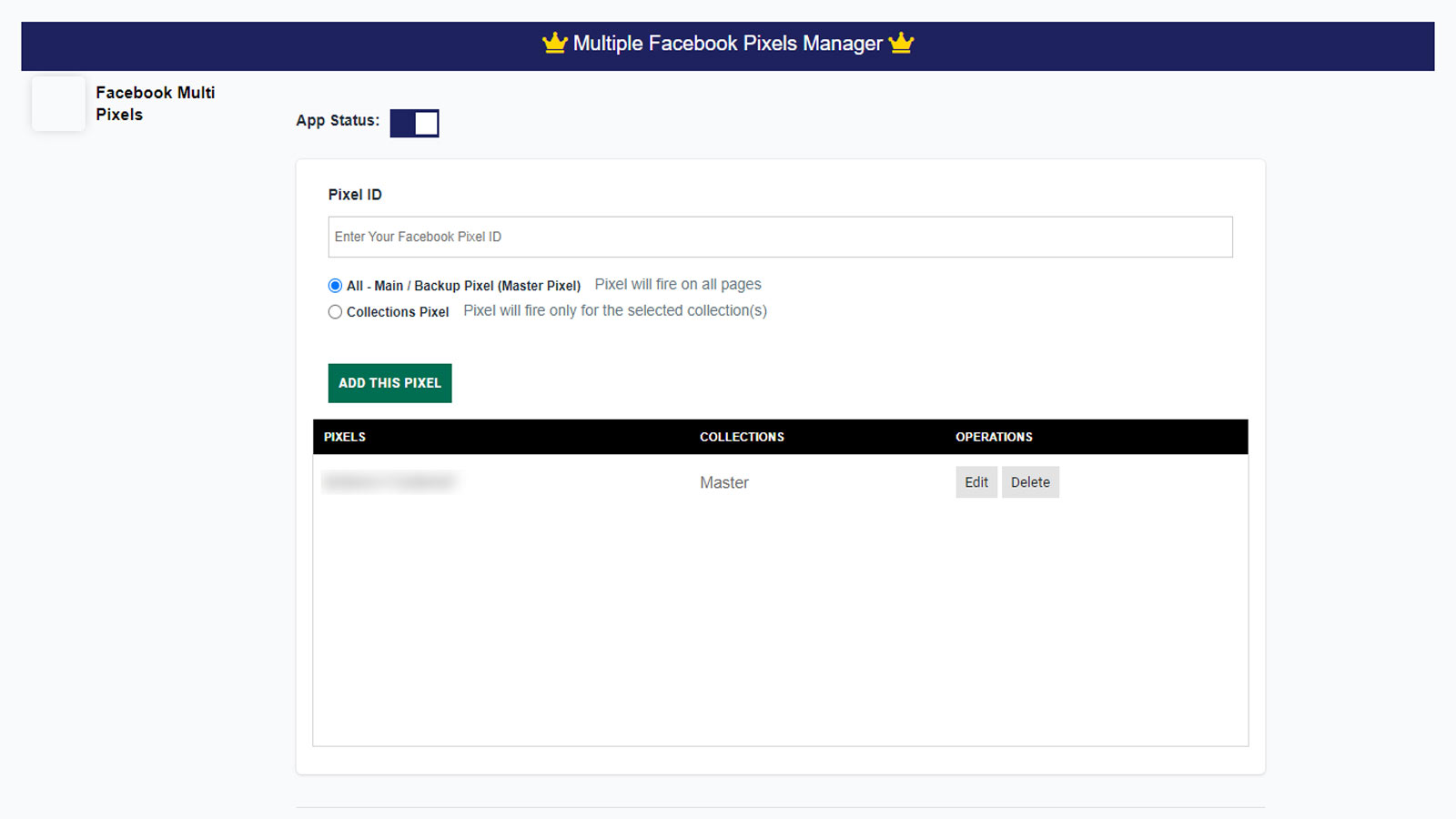 Multiple Facebook Pixels,and Real Time Reporting