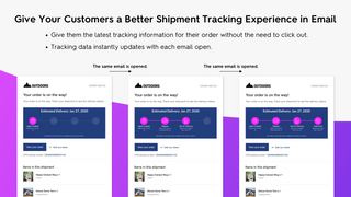 Give your customers a better package tracking experience.