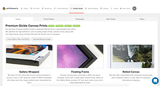 Product page of Printhouse.io.