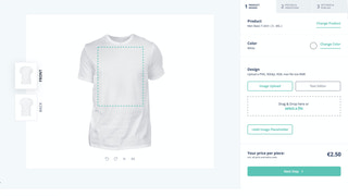 Create a product for POD