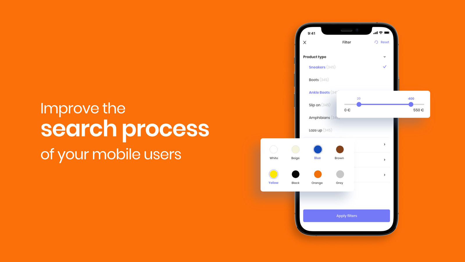 Improve the search process of your mobile users