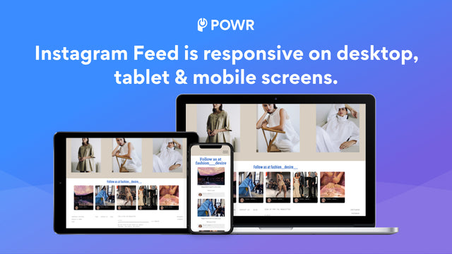 Instagram Feed is responsive on all devices