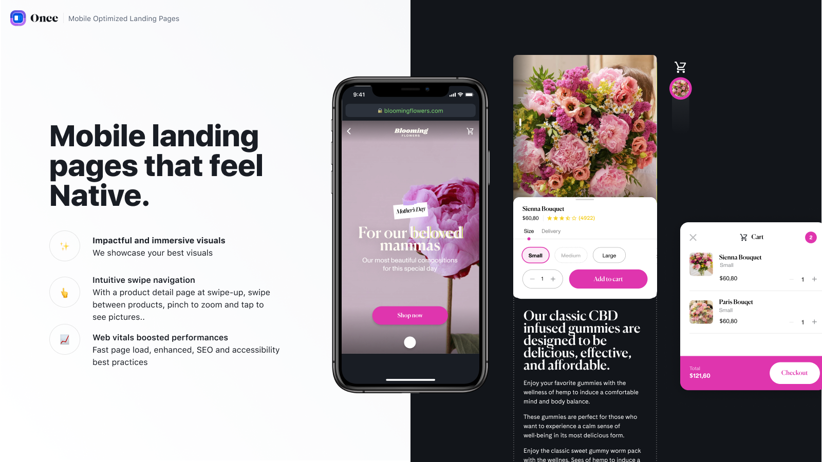 Mobile landing pages that feel native