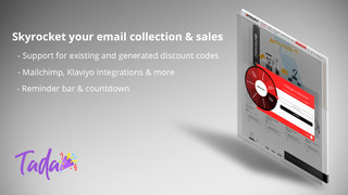 Integrates with Shopify Email, Klaviyo, Mailchimp & more