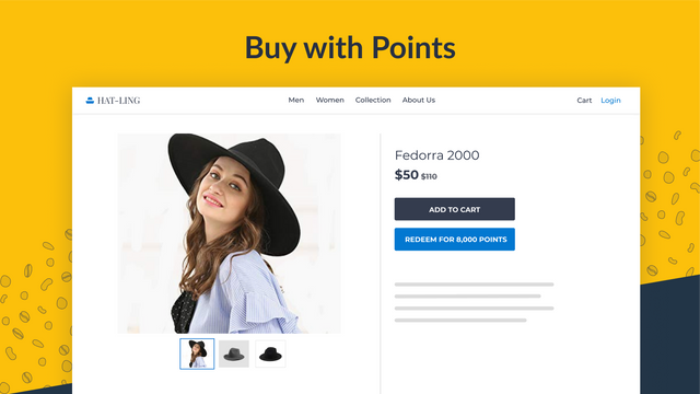 Buy with Points