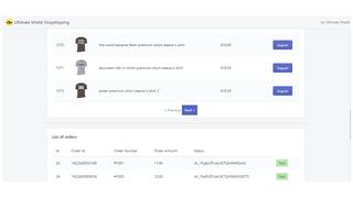 Ultimate shield dropshipping app