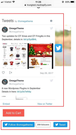 Twitter Embed and Simple button