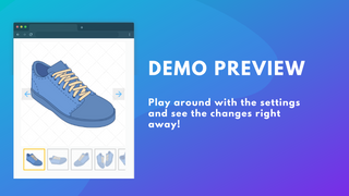 Preview Product Page Carousel