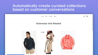 Automatically create collections based on customer conversation