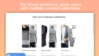 Guide users with multiple curated collections