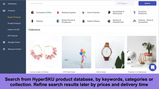 search products by HyperSKU