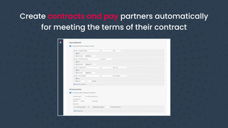 Contract and pay