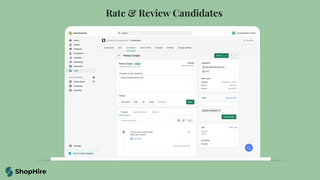 Rate & Review Candidates