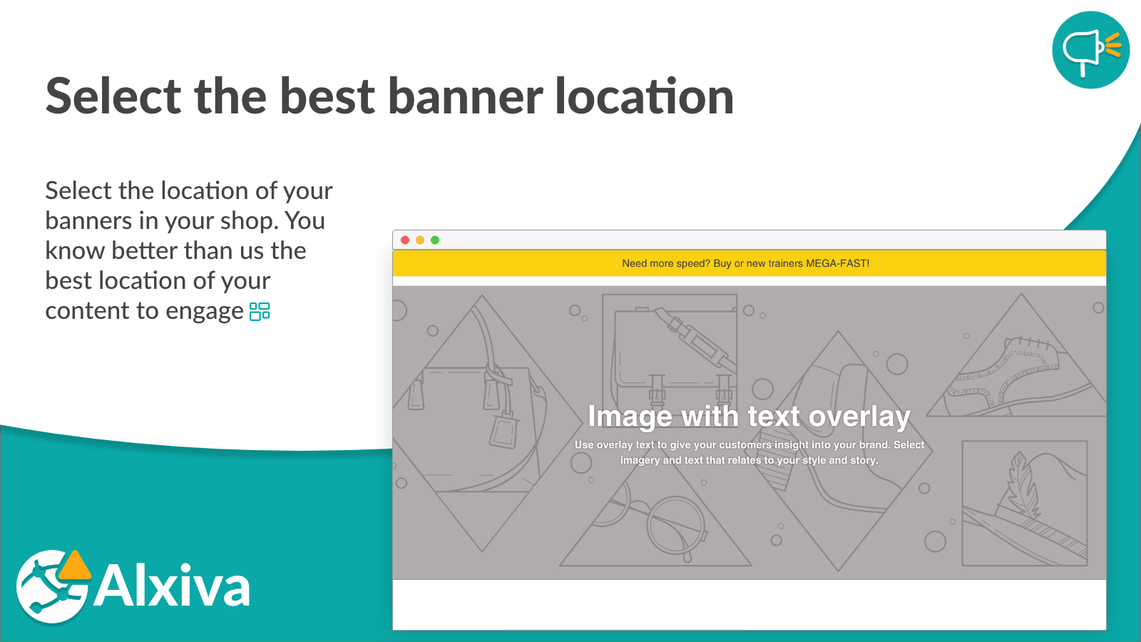 Select the best banner location