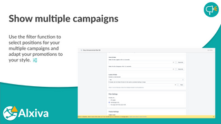 Show multiple campaigns