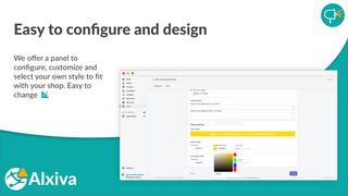 Easy to configure and design