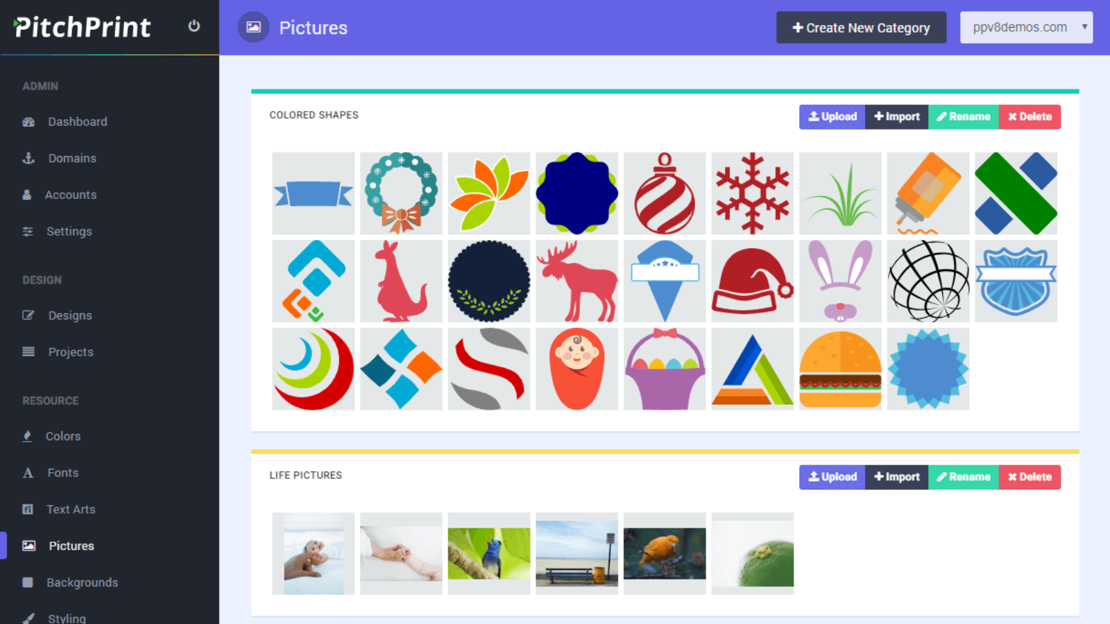 Picture Elements Page