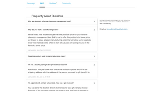 Storefront view FAQs