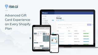 Advanced Gift Card Experience on Every Shopify Plan