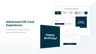 Advanced Gift Card Experience
