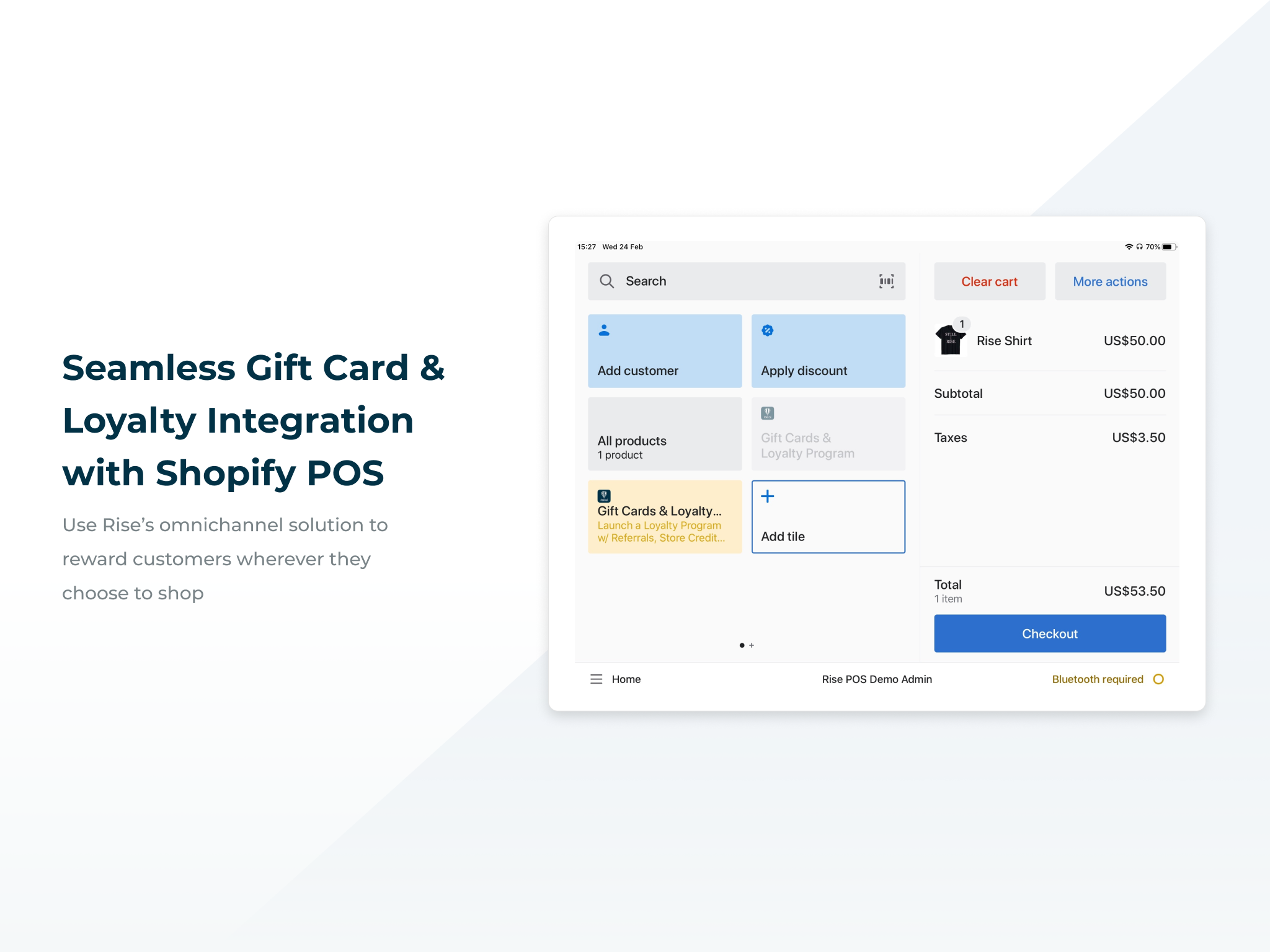 Seamless Gift Card & Loyalty Integration with Shopify POS
