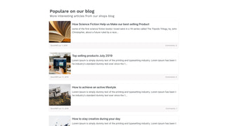 Better Related Blog Posts Screenshot Design 2 Desktop