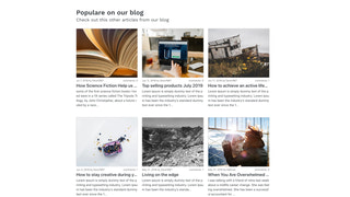 Better Related Blog Posts Screenshot Design 1 Desktop
