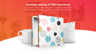 growing catalog of 300+ products