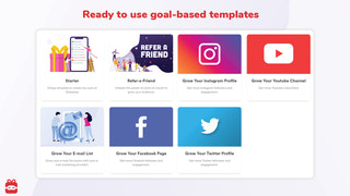 Ready to use goal-based templates