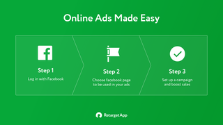 RetargetApp campaign is easy to set up