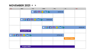 Plan and manage campaigns easily in the DNA Strategy Calendar