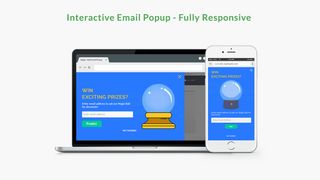 Interactive Email Popup