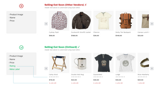 Other Vendors VS OnVoard Product Recommenders