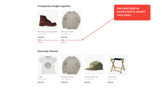 Product Recommendations Examples