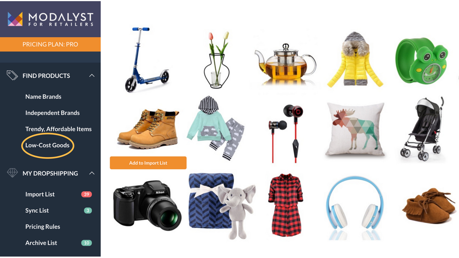 Huge Product Mix of Inventory, Largest List of Suppliers & Items
