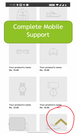 Mobile support on all standard browsers