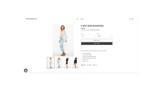 Product Page Look.