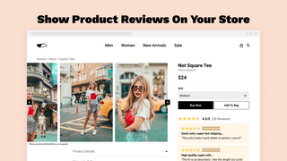 Show Product Reviews & UGC On Your Store