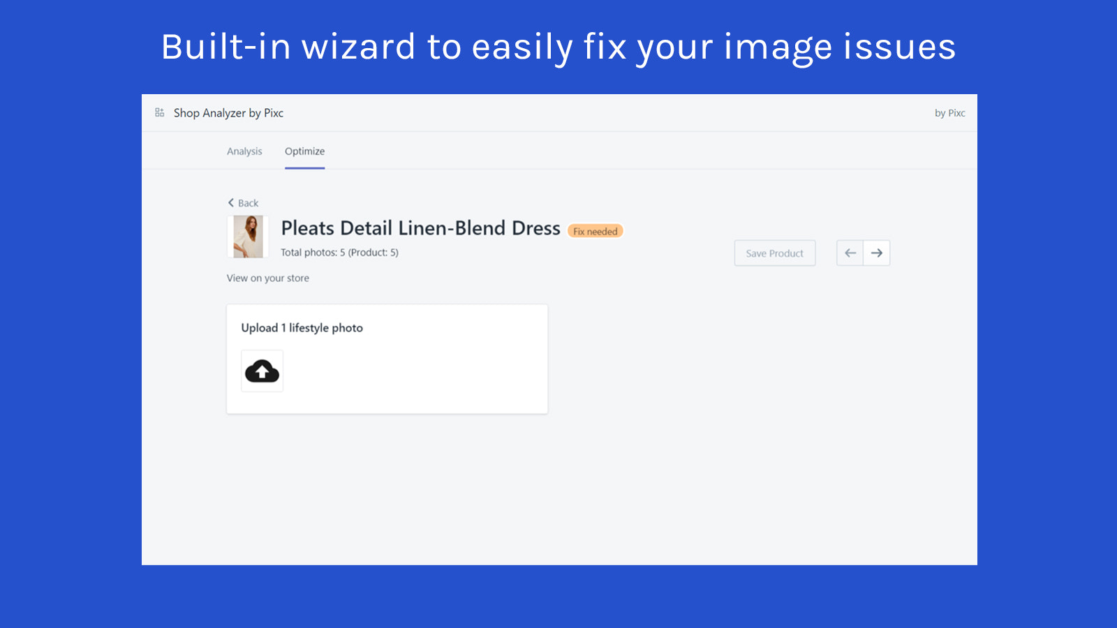 wizard tool available to fix your issues right away