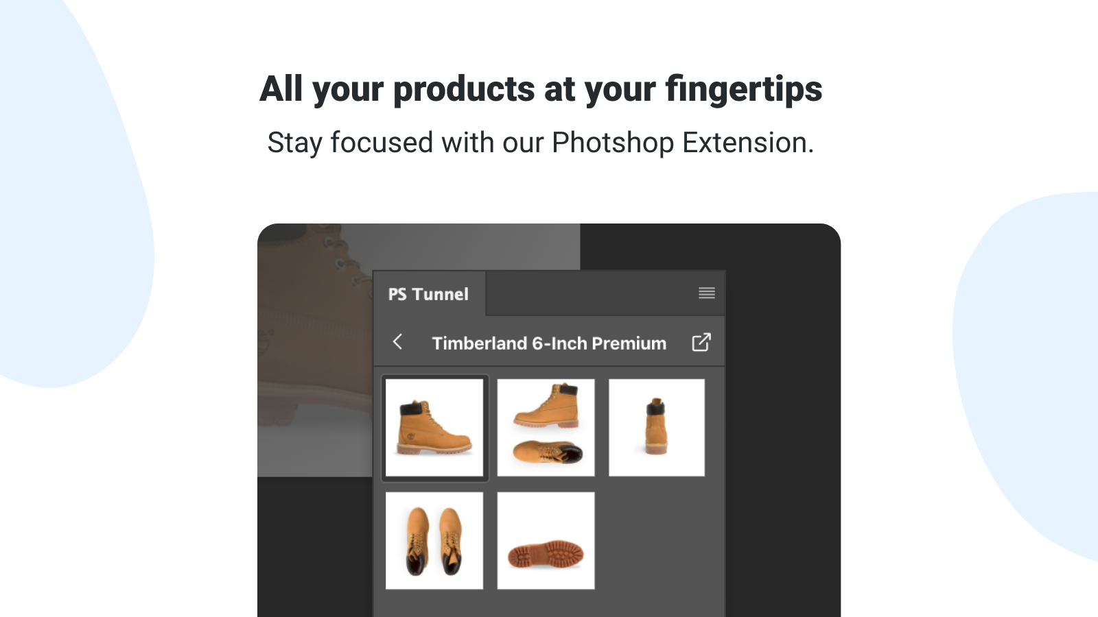 All your products at your fingertips